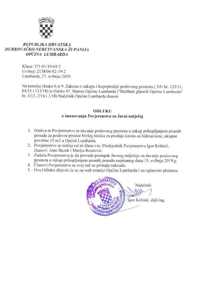 Odluka o imenovanju povjerenstva_page-0001