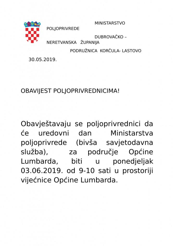 Uredovni dan - Lumbarda, 03.06.2019.-1
